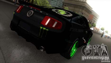 Ford Shelby GT500 Falken Tire для GTA San Andreas вид сзади слева
