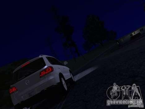 Volkswagen Tiguan 2.0 TDI 2012 для GTA San Andreas салон