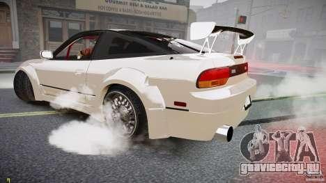 Nissan Sileighty для GTA 4 вид сзади