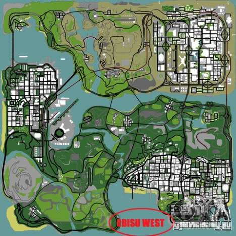 Ebisu West для GTA San Andreas шестой скриншот