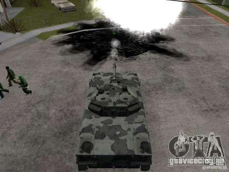 2С25 Спрут-СД для GTA San Andreas вид сзади слева