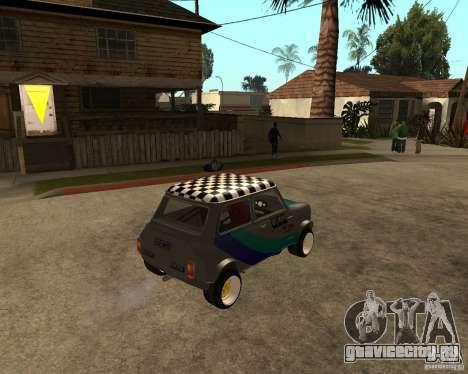 Mini Cooper для GTA San Andreas вид справа