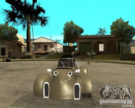 Messerschmitt GT500 Tiger Hard tuned для GTA San Andreas вид сзади