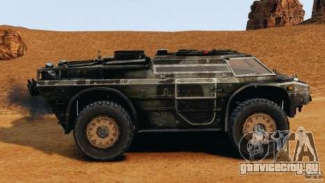 Armored Security Vehicle для GTA 4 вид слева