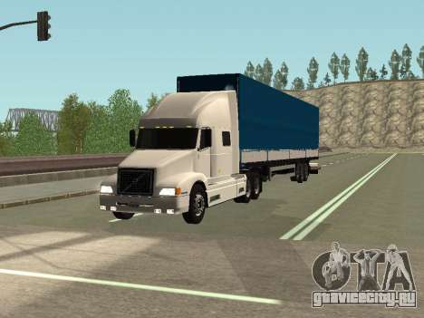 Volvo VNL для GTA San Andreas вид слева