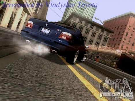 BMW E39 M5 2004 для GTA San Andreas вид сбоку