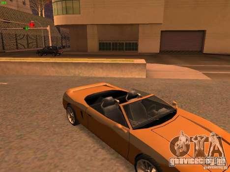Infernus Revolution для GTA San Andreas вид изнутри