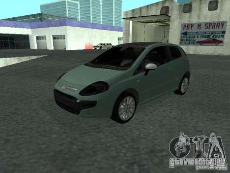Fiat Punto EVO SPORT 2010 для GTA San Andreas