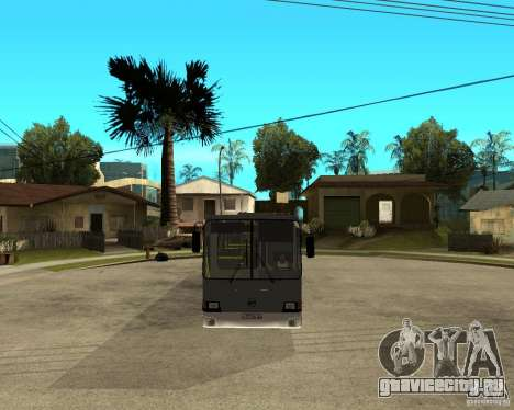 ЛИАЗ 5256.25 Рестайлинг для GTA San Andreas вид сзади