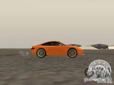 Porsche 911 GT3 Style Tuning для GTA San Andreas вид слева