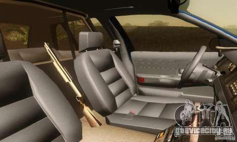 Ford Crown Victoria Michigan Police для GTA San Andreas вид сзади слева