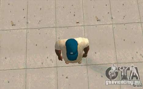 Кепка newyorkyankiys синяя для GTA San Andreas третий скриншот