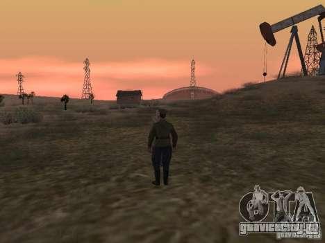 Советский офицер ВОВ для GTA San Andreas пятый скриншот