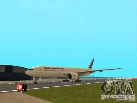 Boeing 777-200 Air France для GTA San Andreas