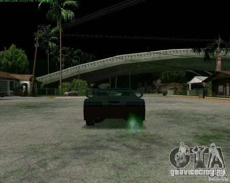 Supergt - Police S для GTA San Andreas вид справа