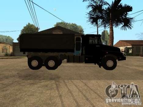 КамАЗ-4355 для GTA San Andreas вид справа