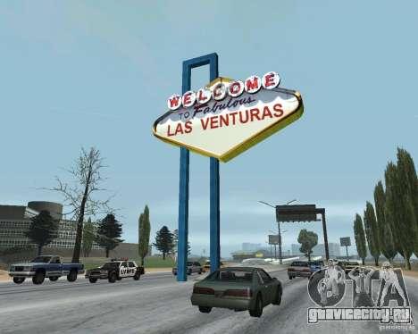 Real New Vegas v1 для GTA San Andreas четвёртый скриншот