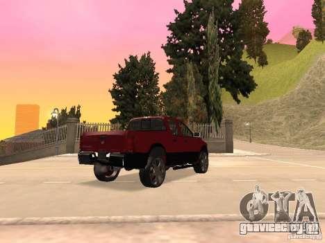 Dodge Ram 2010 для GTA San Andreas вид слева