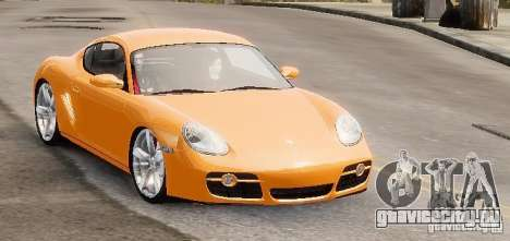 Porsche Cayman для GTA 4 вид справа