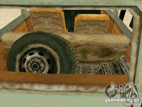 Автомобиль из COD 4 MW для GTA San Andreas вид сверху