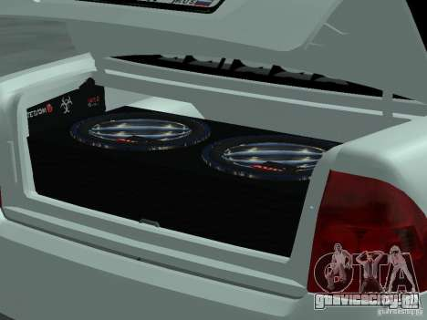 Lada Priora Adidas для GTA San Andreas вид справа