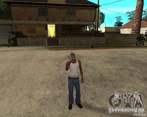 Wolverine mod v1 (Россомаха) для GTA San Andreas второй скриншот