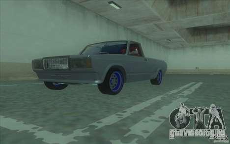 Lada 2107 Street Racing для GTA San Andreas вид справа