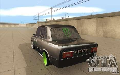ВАЗ-2106 Lada Drift Tuned для GTA San Andreas вид сзади слева