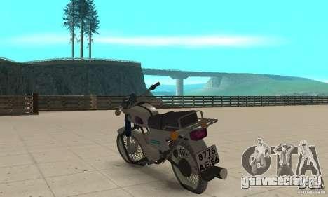 Восход 3М-01 для GTA San Andreas вид сзади слева