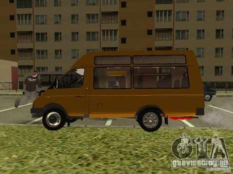 ГАЗ СПВ Рута-16 для GTA San Andreas вид справа