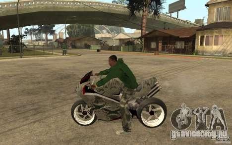 Streetfighter NRG 500 Snakehead v2 для GTA San Andreas