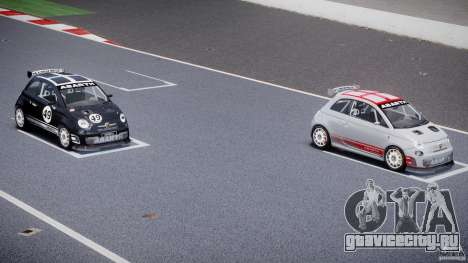 Fiat 500 Abarth для GTA 4 колёса
