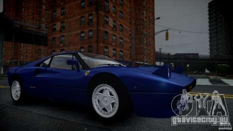 Ferrari 288 GTO EPM для GTA 4 вид сбоку