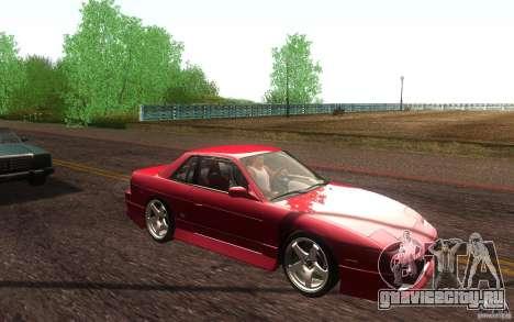 Nissan Silvia S13 Onevia для GTA San Andreas вид сбоку