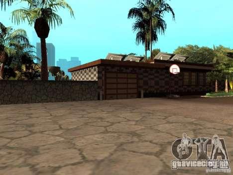 Ретекстурированный дом CJея V1 для GTA San Andreas второй скриншот
