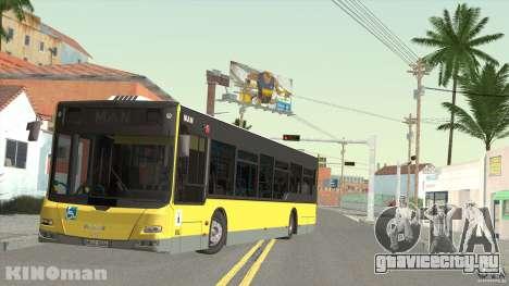 MAN Lion City для GTA San Andreas