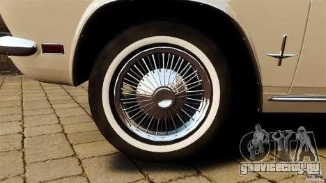 Chevrolet Corvair Monza 1969 для GTA 4 вид сбоку
