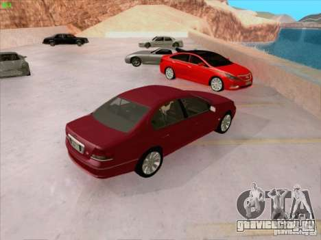 Ford Falcon Fairmont Ghia для GTA San Andreas вид сверху