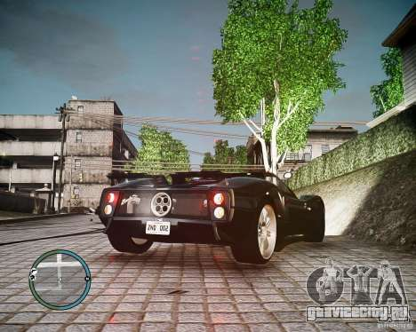 Pagani Zonda C12S Roadster для GTA 4 вид слева
