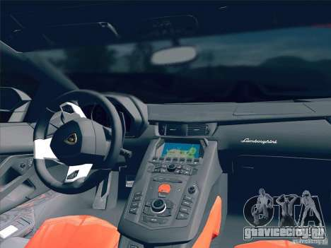 Lamborghini Aventador LP700-4 2011 V1.0 для GTA San Andreas вид снизу