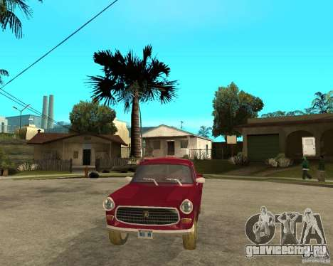Peugeot 404 UXD для GTA San Andreas вид сзади
