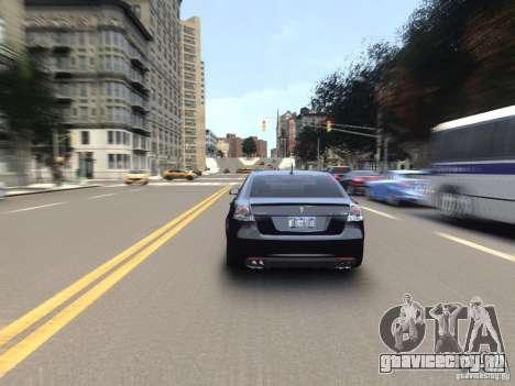 Pontiac G8 GXP для GTA 4 вид изнутри