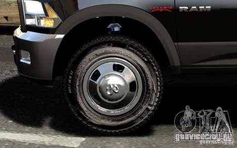 Dodge Ram 3500 Stock Final для GTA 4 вид снизу