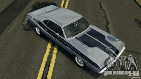 Dodge Challenger RT 1970 v2.0 для GTA 4