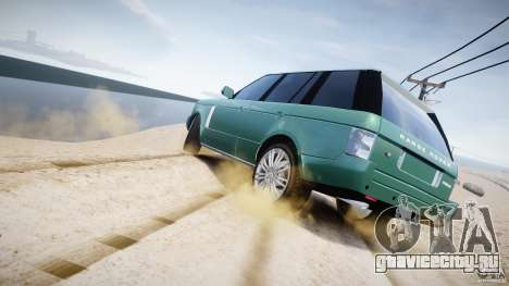 Range Rover Vogue для GTA 4 двигатель