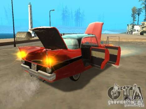 Plymouth Belvedere Sport sedan для GTA San Andreas вид справа