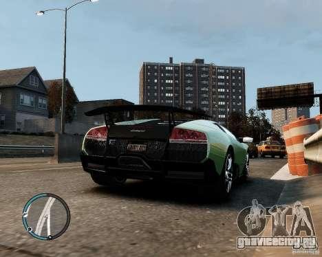 Lamborghini Murcielago LP 670-4 SuperVeloce 2010 для GTA 4 вид справа