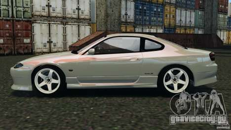 Nissan Silvia S15 Drift для GTA 4 вид слева