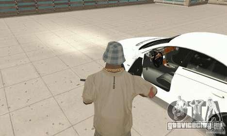 Mercedes-Benz CLS 63 AMG для GTA San Andreas вид сзади