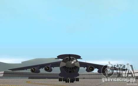 Berijew A-50 Mainstay для GTA San Andreas вид изнутри